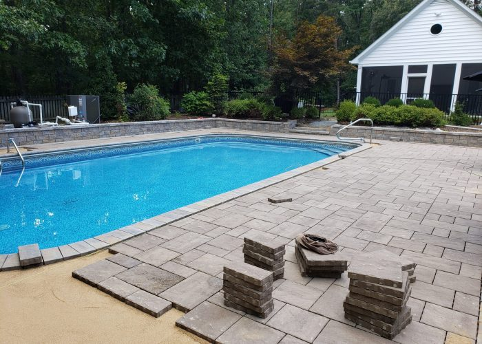 Pool Restoration In Progress
